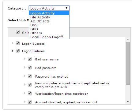 ADAudit Plus Custom Reports